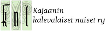 Kajaanin kalevalaiset naiset RY Logo